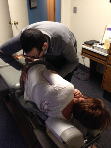 Dr. Brian Marion - Lincoln Park Chiropractic and Sports Associates - Lower Back Manipulation
