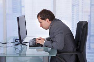 Desk Poor Posture