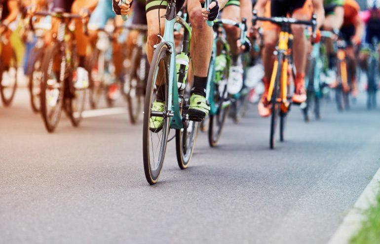 Chicago cycling race and avoiding injury